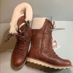 Royal Canadian LOUISE waterproof boots. Sz 11. NWT